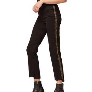 FRAME Le High Straight Stagger-Hem Jeans